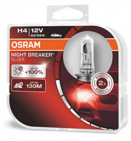 OSRAM sijalice night breaker silver H4