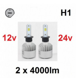 LED H1 SET CSP chip 8000LM