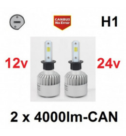 LED H1 SET CSP chip 8000LM - CANBUS
