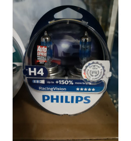 PHILIPS H4 RACING Vision  +150%
