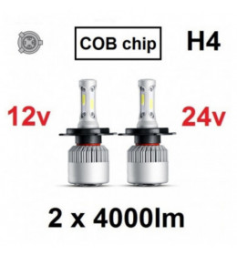 LED H4 SET COB-serija