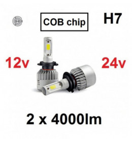 LED H7 SET COB-serija