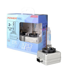 D1S XENON Powertec Super White DUO-BOX