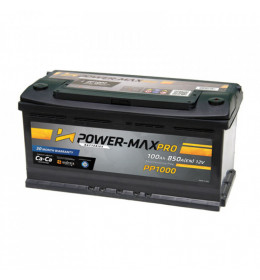Auto Akumulator Power-Max Pro 12V 100Ah