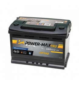 Auto Akumulator Power-Max Pro 12V 74Ah