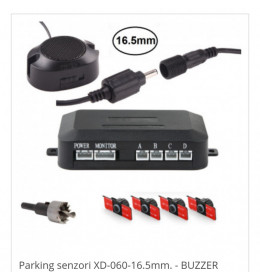 Parking senzori XD-060-16.5mm. - BUZZER
