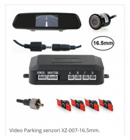 Video Parking senzori XZ-007-16.5mm